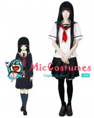 Hell Girl Ai Enma Summer School Uniform