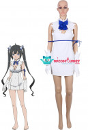 Is It Wrong to Try to Pick Up Girls in a Dungeon Hestia Cosplay Costume Women S