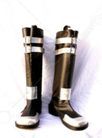 High White Toe D Gray Man Lenalee Lee Cosplay Shoes Boots