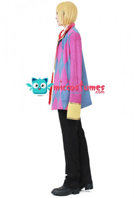 Howl's Moving Castle Howl Cosplay Costume including Jewelry Necklace