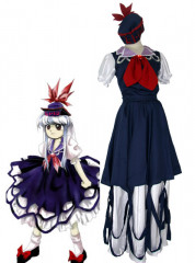 Imperishable Night Keine Kamishirasawa Cosplay Costume