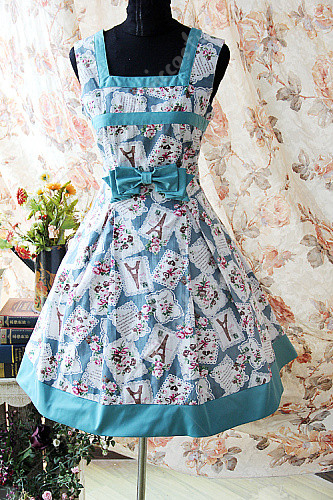 Infanta The letter from Paris Lolita Dress