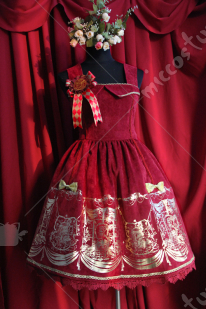 Infanta Lolita Pirate Hot Stamping Dress