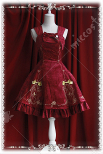 Infanta Lolita Nightingale Embroidery Dress