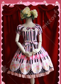 Infanta Lolita Strawberry Sundae Dress