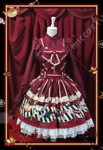 Infanta Lolita Dark Magic Party Dress