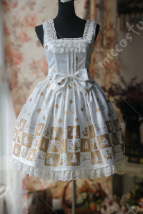 Infanta Alice Checkerboard Lolita Dress