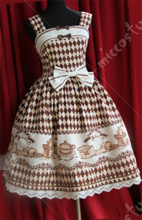 Infanta Lolita Coffee Time Dress