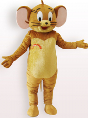 Jerry Short Plush Adult Mascot Costume