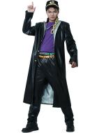 JoJos Bizarre Adventure Jotaro Kujo Leather Cosplay Costumes