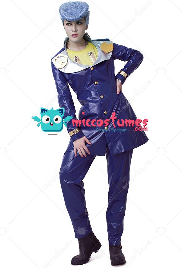 Jojo S Bizarre Adventure 4 Josuke Higashikata Cosplay Costume