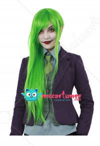 Female Joker Cosplay Wig