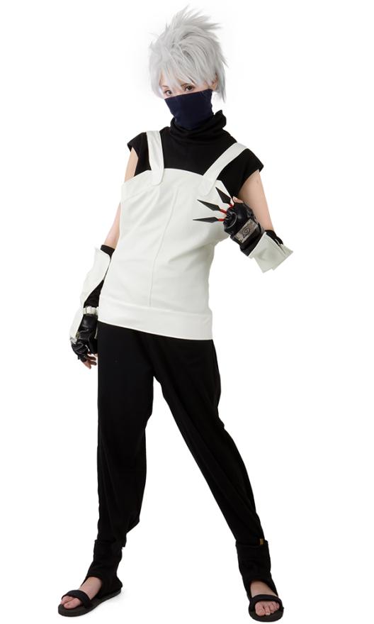 Naruto Hatake Kakashi Anbu Cosplay Kostüme