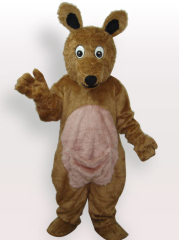 Kangaroo Plush Adult Mascot Costume
