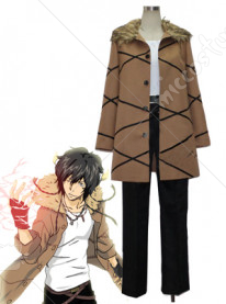 Katekyo Hitman Reborn Lambo 10years later Cosplay Costume