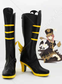 KILL la KILL Nonon Jakuzure Cosplay Shoes Black