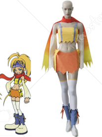 Kingdom Hearts II Fairy Rikku Cosplay Costume