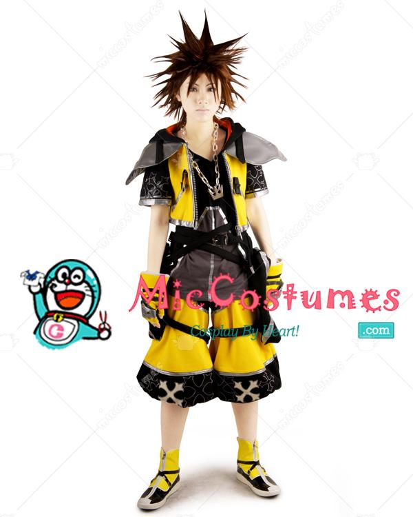 Kingdom Hearts III Sora Cosplay Costume For Sale 40fc700f6eee