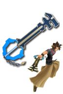 Kingdom Hearts Birth by Sleep Terra Cosplay Keyblade