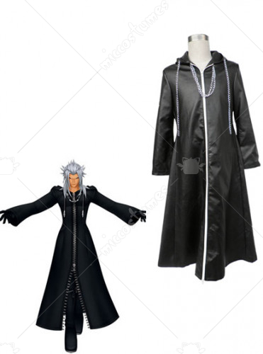 Kingdom Hearts Organization XIII Xemnas Cosplay Costume