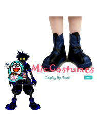Kingdom Hearts Dark Sora Cosplay Shoes