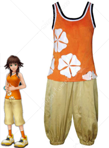 Kingdom Hearts II Olette Cosplay Costume