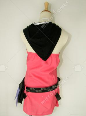 Kingdom Hearts Kairi Red Dress Cosplay Costume