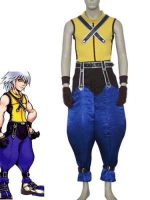 Kingdom Hearts Riku Cosplay Costume