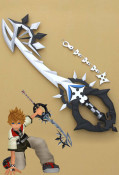 Kingdom Hearts Roxas Cosplay Weapon Two Become One
