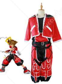 Kingdom Hearts Sora Brave Form Cosplay Costume