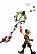 Kingdom Hearts Cosplay Keyblade Decisive Pumpkin