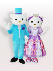 Kitty Cats Adult Mascot Costume