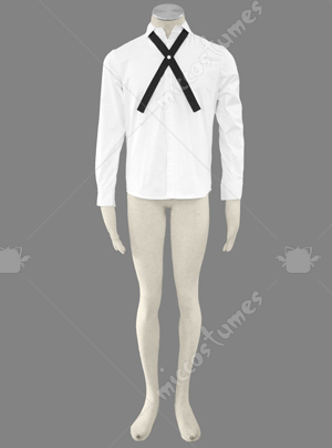 Korean Fashion Shirt Cosplay Costume
