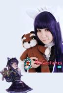 League of Legends LOL Dark Child Annie Cosplay Wig Purple