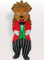 Little Hedgedog Short Plush Adult Mascot Costume