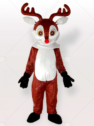 Little Reindeer Brown Adult Mascot Costume