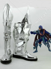 League of Legends Blade's Shadow Talon Cosplay Shoes