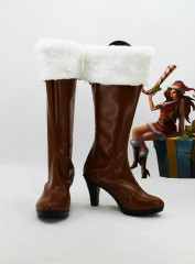 League of Legends Bounty Hunter Miss Fortune Cosplay Shoes