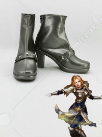 League of Legends Lady of Luminosity Lux Cosplay Shoes