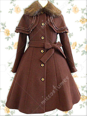 Lolita Coat Cosplay Costume