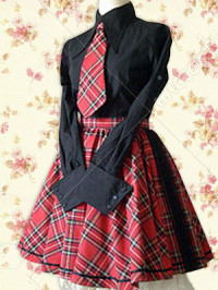 Lolita England School Uniform Cosplay Costume