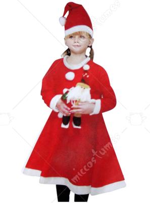 Костюм санта клауса для девочки 9 лет своими руками