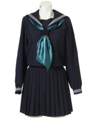 Long Sleeves Sailor School Uniform