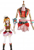 Love Live! 2 Dancing Stars On Me Honoka Kousaka Cosplay Costume