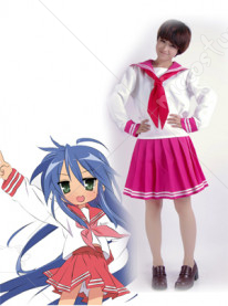 Lucky Star Ryoo Academy Female Winter Uniform Cosplay Costume