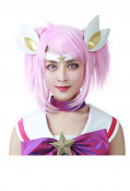 League Of Legends The Lady Of Luminosity Star Guardian Lux Cosplay Wig