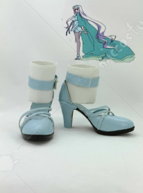 Macross Frontier-Itsuwari no Utahime Cosplay Shoes