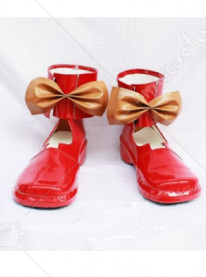 Macross Frontie Ranka Lee Cosplay Shoes Boots