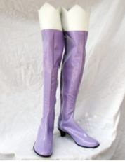 Macross Frontier Klan Cosplay Shoes Boots