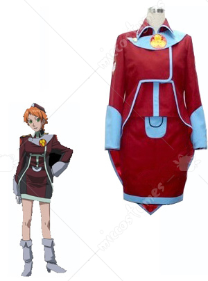 Macross Frontier Monica Lange Cosplay Costume
